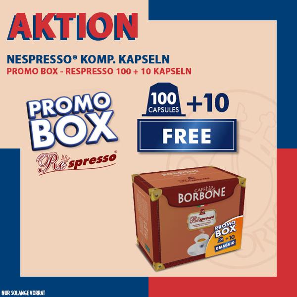 PROMOBOX - Borbone REspresso ROSSA - 50er Pack