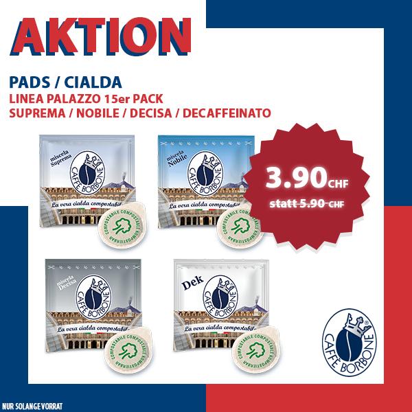 AKTION - Borbone Linea Palazzo PADS - 15er Pack