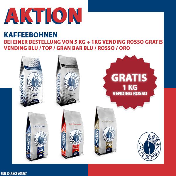 AKTION Kaffeebohnen - 5 +1 kg