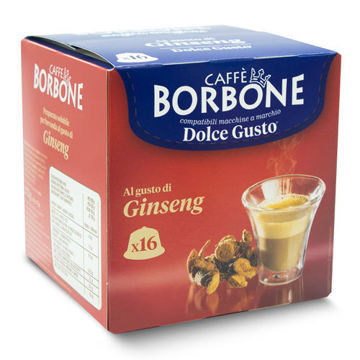 Borbone Nescafè Dolce Gusto CAFFÈ AL GINSENG